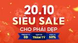 Ưu đãi hơn 50% tại ngày hội 'Flash Sale cho phái đẹp' trên Shopee