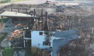 Trang trại nhà Jennifer Lawrence cháy