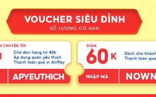 Bỏ túi ngay loạt món ngon Sài Thành có giá siêu đặc biệt chỉ 1K, duy nhất tại NowFood
