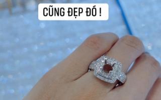 Khoe nhẫn ở vị trí đặc biệt giữa nghi vấn lên xe hoa lần 3, HH Diễm Hương đã nhận lời cầu hôn?