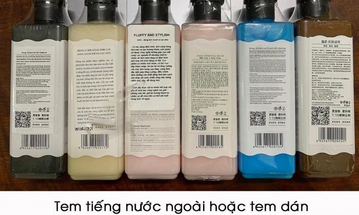 Cảnh báo sữa tắm SOS giả và cách phân biệt hàng nhái