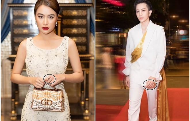 Hoàng Thùy Linh đeo nhẫn đôi cùng Gil Lê