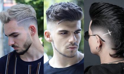 tóc nam, xu hướng tóc nam, tóc nam mới